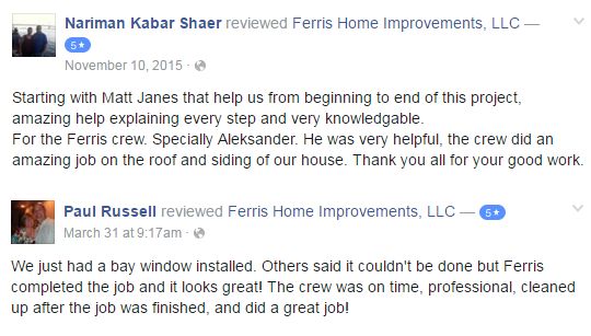 Customer Reviews Ferris Home Improvement